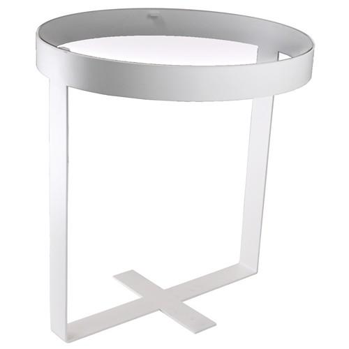 Spinder Design Dynastie Bijzettafel Wit 50cm
