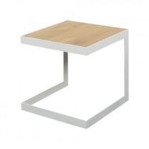 Spinder Design Denham Bijzettafel Wit 40cm