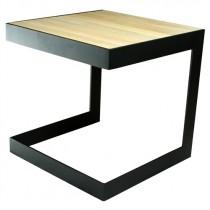 Spinder Design Denham Bijzettafel Zwart 40cm