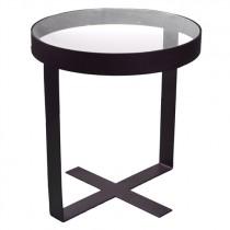 Spinder Design Dynastie Bijzettafel Zwart 50cm