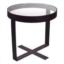 Spinder Design Dynastie Bijzettafel Zwart 40cm