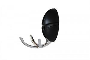 Spinder Design - DE TICK ® Zwart/zamak verchroomd